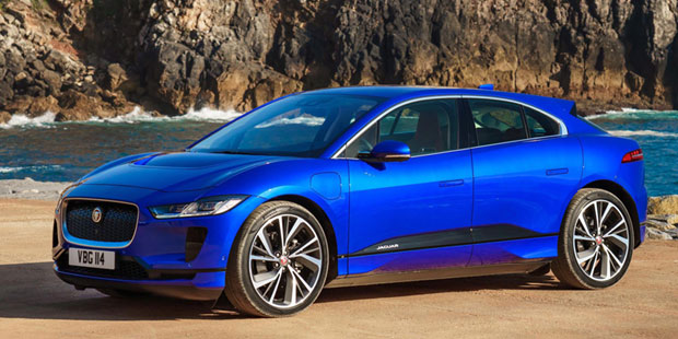 the jaguar i-pace is the first electric car to challenge tesla's dominance