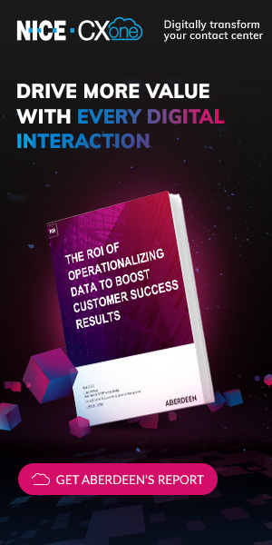Get the Aberdeen report, The ROI of Operationalizing Data to Boost Customer Success
